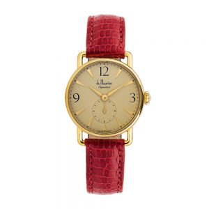 DSG-GOLDD-RED-du maurier ladies watch