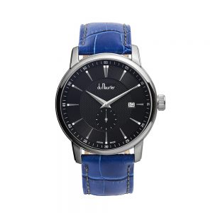 MXB2-BLU-du maurier maxim mens watch with blue strap