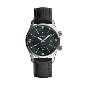 Commodore Leather Soldier White Watch