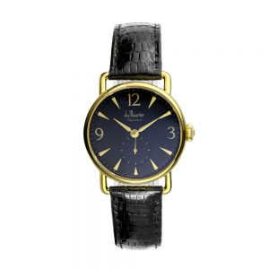 daphne signature black ladies watch black strap