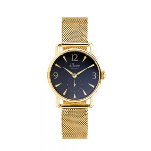 DSG-BLKD-GMESH-du maurier ladies watch
