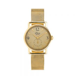 DSG-GOLDD-GMESH-du maurier ladies watch