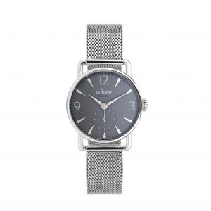 dss-greyd-smesh grey dial with silver mesh strap