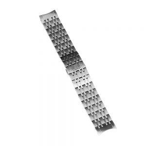 commodore mens watch silver steel strap