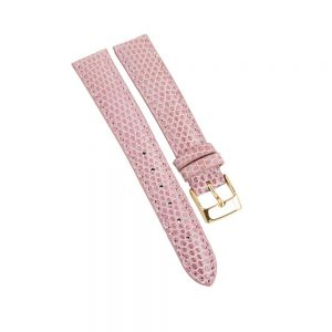 Daohne Signature light pink Lizard strap