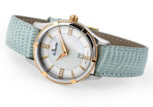 rebecca ladies watch blue strap